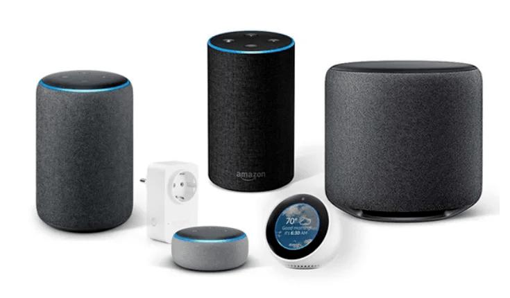 Dispositivos Amazon Echo (Alexa) Disponibles