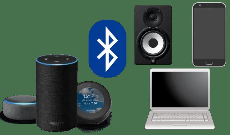 Conectar dispositivos Bluetooth con Amazon Echo (Alexa)