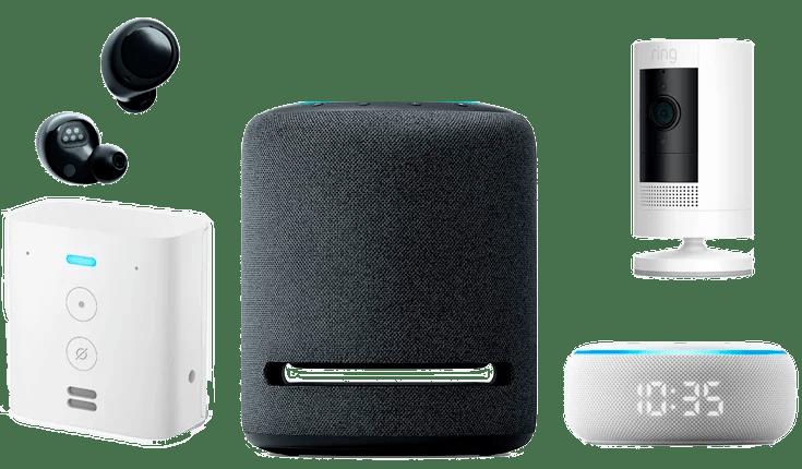 Nuevos dispositivos Amazon Echo con Alexa